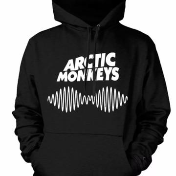 692fd47dcc Moletom Canguru Arctic Monkeys Banda Tumblr Preto