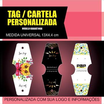 TAG/CARTELA BIJUTERIA PERSONALIZADA