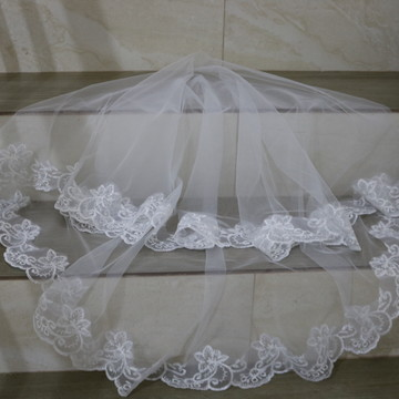 véu curto noiva mantilha 1,5 metros casamento branco