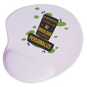 Mouse Pad Ergonômico com descanso - Personalize
