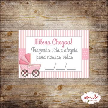 Tag Agradecimento -Maternidade\Carrinho de bebê