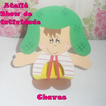Porta Bombom CHAVES EM EVA