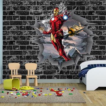 Papel de Parede Decoração dos Vingadores 0036