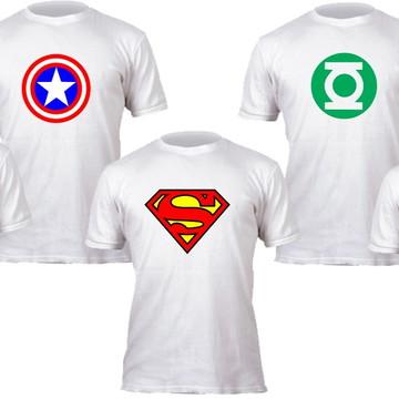 camisetas personalizadas super herois
