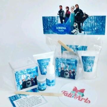 Kit Slime Frozen - Embalagens Personalizadas