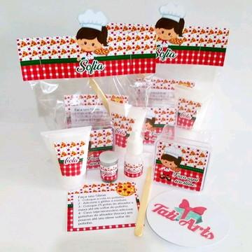 Kit Slime Pizzaria - Embalagens Personalizadas