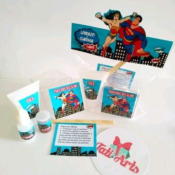 Kit Slime Herois - Embalagens Personalizadas