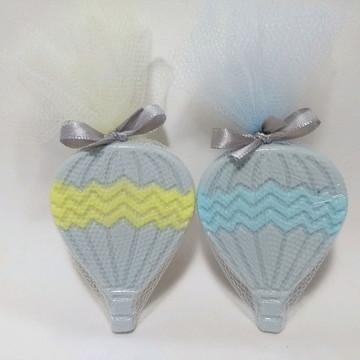 Lembrancinha Chá de bebê , Balão Chevron Personalizado
