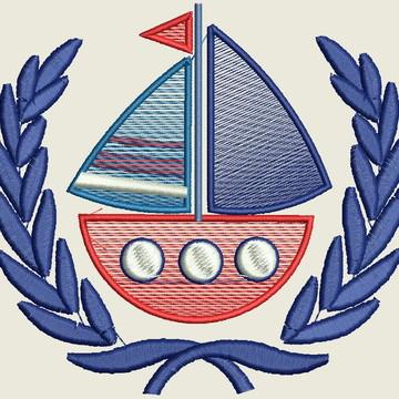 Matriz -Moldura com Barco