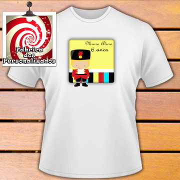 Camiseta Personalizada estampa Tema Soldadinho de Chumbo