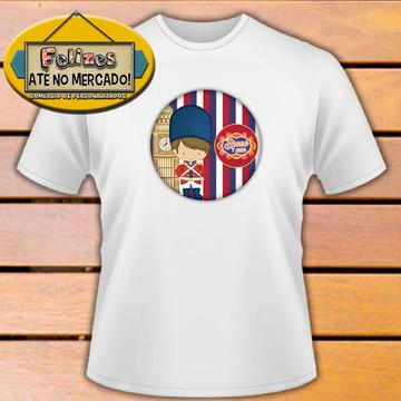 Camiseta Personalizada para evento tema Soldadinho de Chumbo