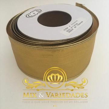 Fita Aramada Dourada 50mm X280mm Melhor Preço