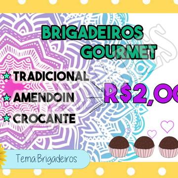 Arte personalizada Brigadeiro