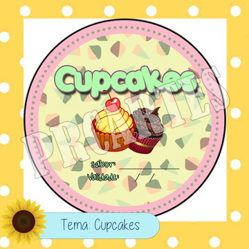 Arte personalizada Cupcake
