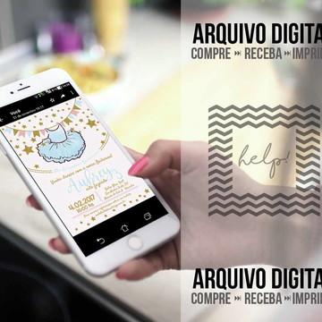 Convite Bailarina - Arquivo Digital