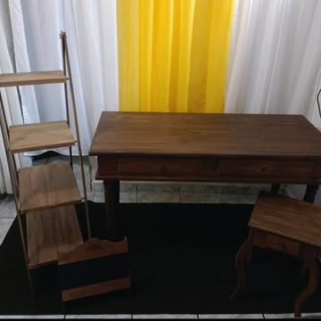 aluguel mesa rustica