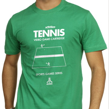 Camiseta Geek Games Jogo Tennis Atari 2600