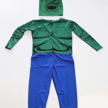 Fantasia Infantil Hulk Longa