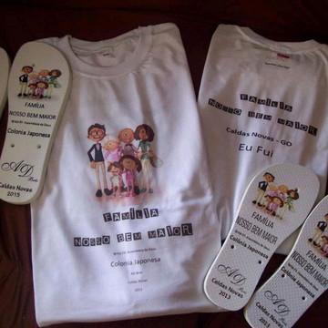 Camiseta personalizada para Congressos