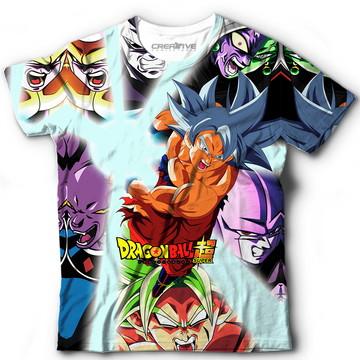 f78798fa06 Camisa Camiseta Goku Instinto Superior Completo Dbz Super