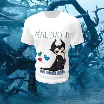 Camiseta Camisa Blusa Personalizada Disney Malevola Princesa