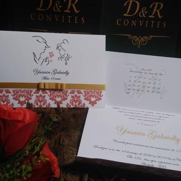 Convites de casamento. aniversarios (EM PROMOCAO)