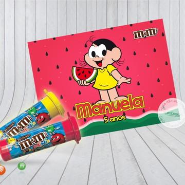 Adesivo M&MS Magali