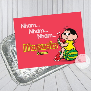 Adesivo Marmitinha Magali