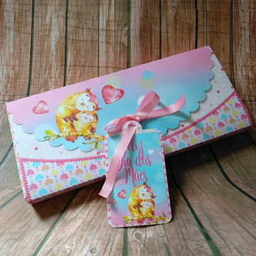 Dia das Mães - Caixa barra de chocolate