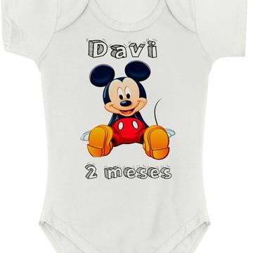Body Baby personalizado - até GG