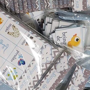 Kit 35 Bingo Personalizado + 35 Mini Lápis