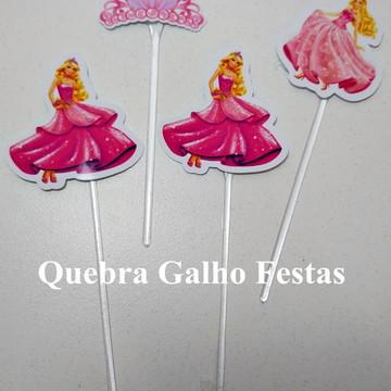 Topper doces Barbie - Pct com 10