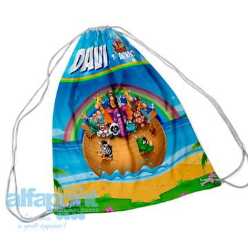 Mochilinha Personalizada Arca de Noé