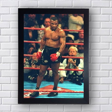 Quadro Decorativo Mike Tyson