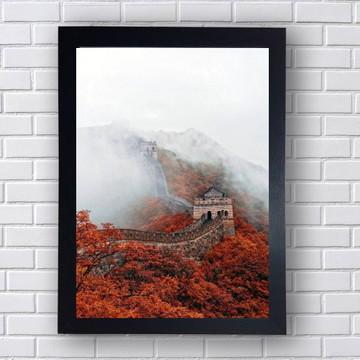Quadro Muralha Da China