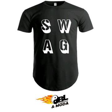 3157afabc Camiseta long line unissex SWAG
