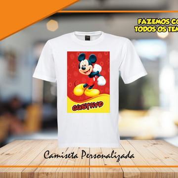 camiseta personalizada do mickey
