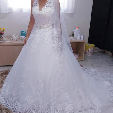Vestido de Noiva Cíntia