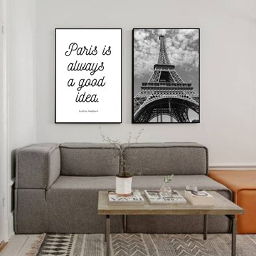 Duo de Quadros Paris