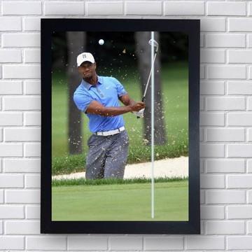 Quadro Decorativo Tiger Woods