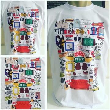 Camiseta Friends - Referências da Série.