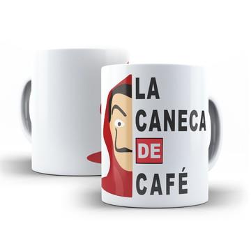 "Caneca Personalizada La Casa de Papel ""La Caneca de Café"""