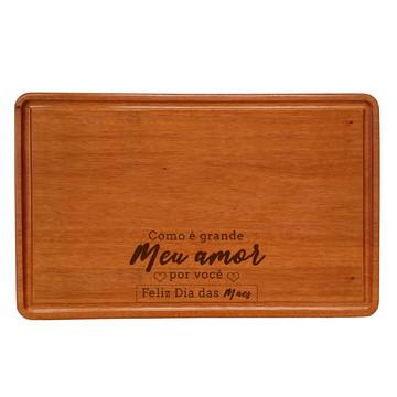 Tabua de corte personalizada Dia das Mães