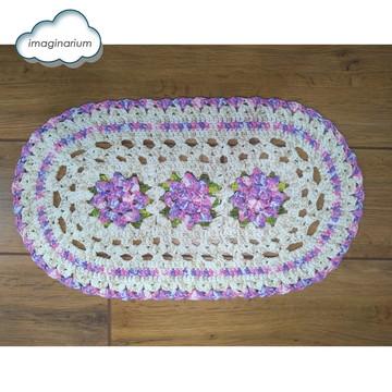 Tapete de croche barroco - (Florido)