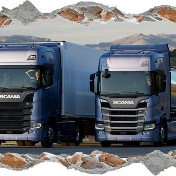 Adesivo De Parede Caminhões Lindos Scania Top Brasil