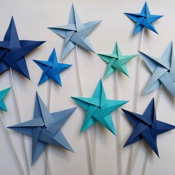 Estrela   Topper   Decoração de Mesa