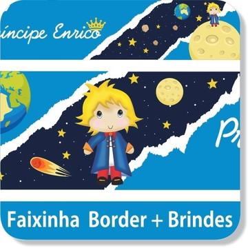08 Metros Faixa Adesivo Border Pequeno Principe Menino Filho