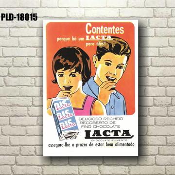 37cc4bf30 Placa Decorativa MDF 20x30cm - Propagandas Antigas - FC