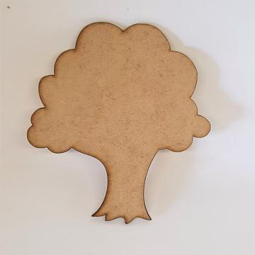 Aplique em mdf - Árvore 5cm