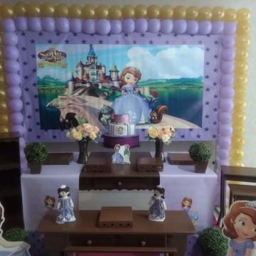 decoração Princesa Sofia Rustico